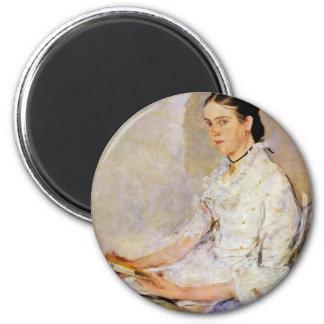 Portrait Of Rosine Fischler Countess Treuberg Refrigerator Magnet
