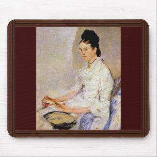 Portrait Of Rosine Fischler Countess Treuberg Mouse Pads