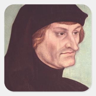 Portrait of Rudolf Agricola Square Sticker