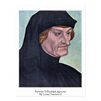 Portrait Of Rudolph Agricola By Lucas Cranach (I) Postcard