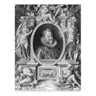 Portrait of Rudolph II Postcard
