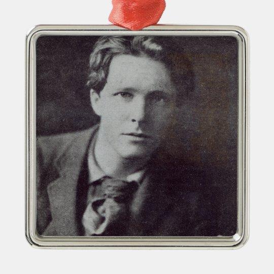 Portrait of Rupert Brooke Metal Ornament