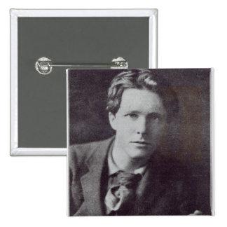 Portrait of Rupert Brooke Pinback Button