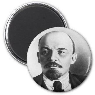 Portrait of Russian Vladimir Ilyich Lenin 2 Inch Round Magnet