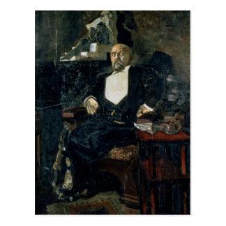 Portrait of S. Mamontov Postcard