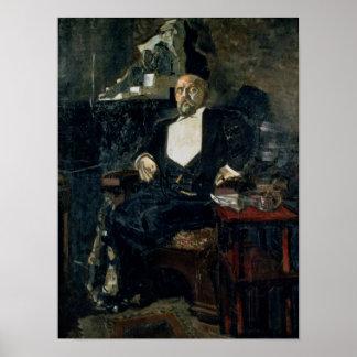 Portrait of S. Mamontov Poster