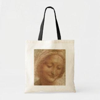 Portrait of Saint Anne by Leonardo da Vinci Budget Tote Bag