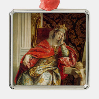 Portrait of Saint Helena Metal Ornament