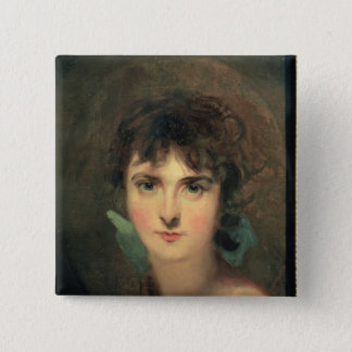 Portrait of Sally Siddons Button