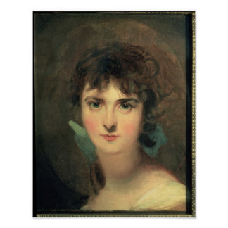 Portrait of Sally Siddons Poster