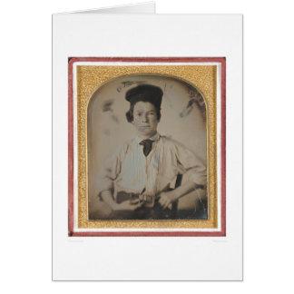 Portrait of Samuel Clemens (40447) Greeting Card