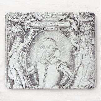 Portrait of Samuel Daniel Mouse Pad