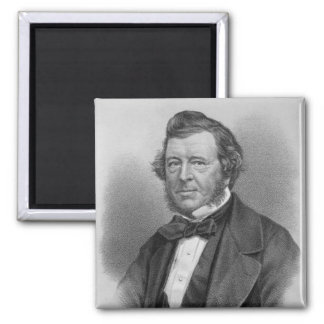 Portrait of Samuel Lover Magnets