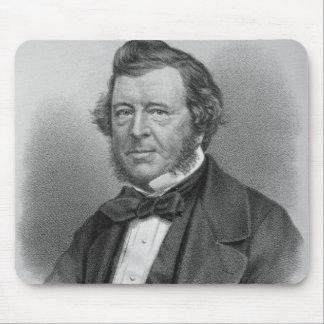 Portrait of Samuel Lover Mouse Pad