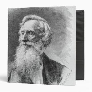 Portrait of Samuel Morse Vinyl Binders