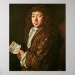 Portrait of Samuel Pepys  1666 Posters