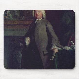 Portrait of Samuel Richardson  1750 Mouse Pad