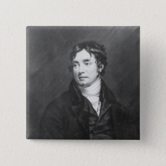 Portrait of Samuel Taylor Coleridge Button