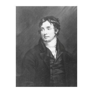 Portrait of Samuel Taylor Coleridge Canvas Print