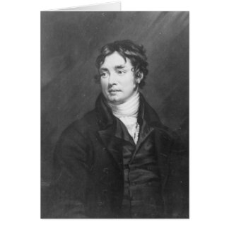 Portrait of Samuel Taylor Coleridge Card