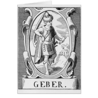 Portrait of Samuel Taylor Coleridge Greeting Card