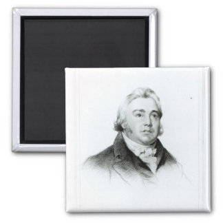 Portrait of Samuel Taylor Coleridge Magnet