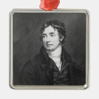 Portrait of Samuel Taylor Coleridge Metal Ornament