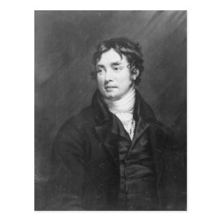 Portrait of Samuel Taylor Coleridge Postcard