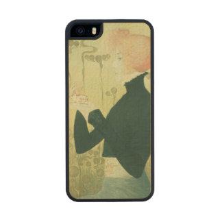 Portrait of Sarah Bernhardt Carved® Maple iPhone 5 Case