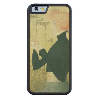 Portrait of Sarah Bernhardt Carved® Maple iPhone 6 Bumper Case