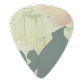 Portrait of Sarah Bernhardt Acetal Guitar Pick