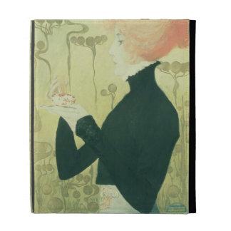 Portrait of Sarah Bernhardt iPad Folio Cases