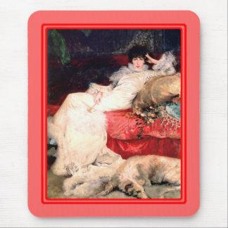 Portrait of Sarah Bernhardt Mouse Pad