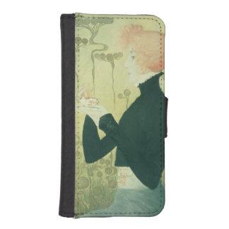 Portrait of Sarah Bernhardt Phone Wallet Cases