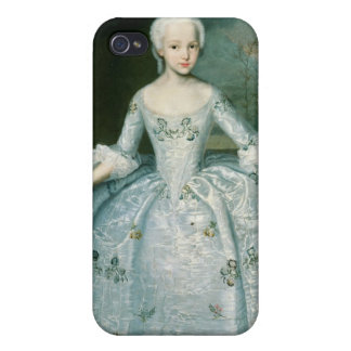 Portrait of Sarah Eleonor Fermor  1749-50 iPhone 4/4S Covers