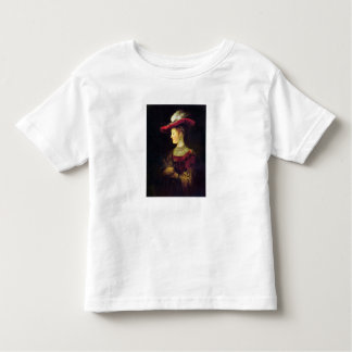 Portrait of Saskia  by Rembrandt Toddler T-shirt