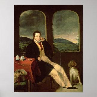 Portrait of Schubert Poster