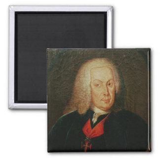 Portrait of Sebasiao Jose de Carvalho Magnet