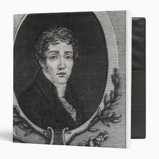 Portrait of Sebastian-Roch Nicolas 3 Ring Binder