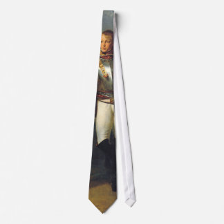 Portrait of Second Lieutenand Charles Legrand Neck Tie