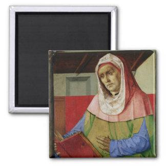 Portrait of Seneca  c.1475 2 Inch Square Magnet