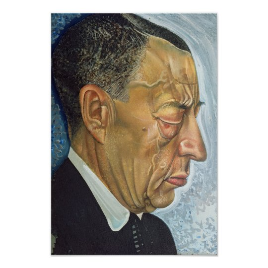 Portrait of Sergey Rakhmaninov  1930 Poster