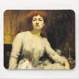 Portrait of Severine  1893 Mouse Pad