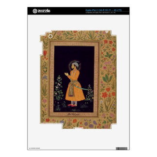 Portrait of Shah Jahan (1592-1666) Mughal, c.1632 Decal For iPad 3