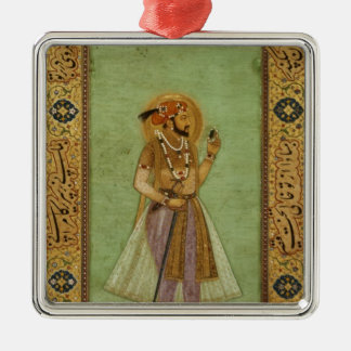 Portrait of Shah Jahan , 1631, Mughal Metal Ornament