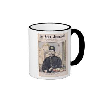 Portrait of Shah Mozzafer-ed-Din Coffee Mug