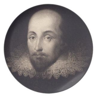 """Portrait of Shakespeare"" plate"