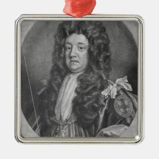 Portrait of Sidney Godolphin Metal Ornament