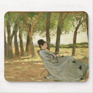 Portrait of Signora Martelli (oil on canvas) Mouse Pad