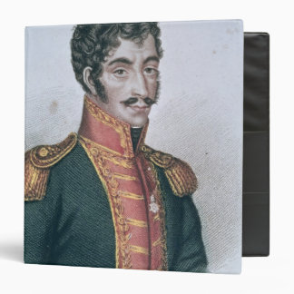 Portrait of Simon Bolivar Binders